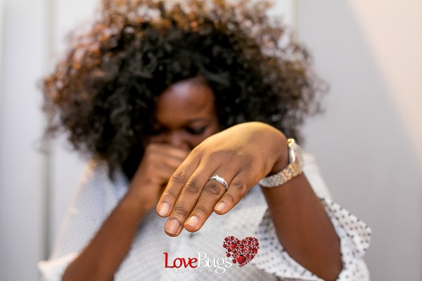 Zainab Azeez Damilola Wed Expo Proposal LoveweddingsNG25
