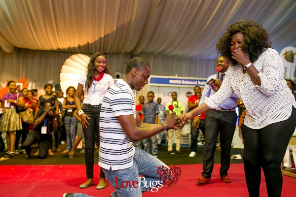 Zainab Azeez Damilola Wed Expo Proposal LoveweddingsNG7