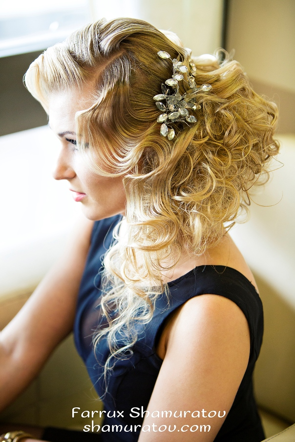 Bridal Hair Inspiration Farrukh Shamuratov LoveweddingsNG