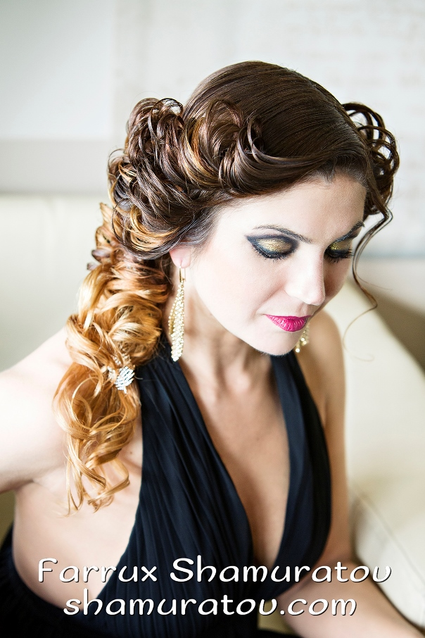 Bridal Hair Inspiration Farrukh Shamuratov LoveweddingsNG10