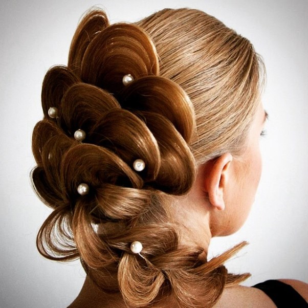 Bridal Hair Inspiration Farrukh Shamuratov LoveweddingsNG12
