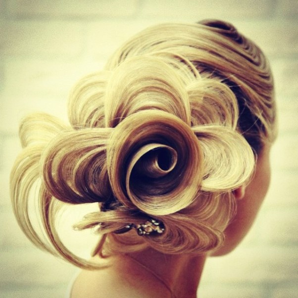 Bridal Hair Inspiration Farrukh Shamuratov LoveweddingsNG13