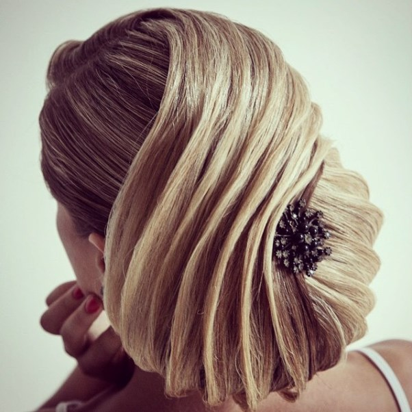 Bridal Hair Inspiration Farrukh Shamuratov LoveweddingsNG16