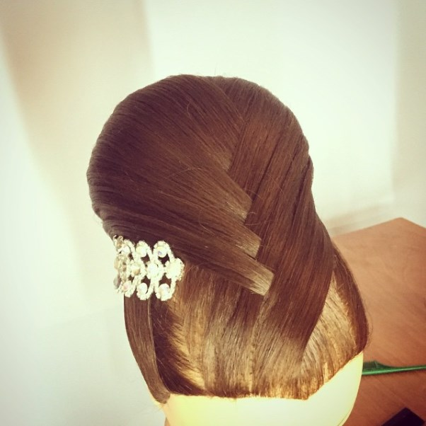Bridal Hair Inspiration Farrukh Shamuratov LoveweddingsNG17