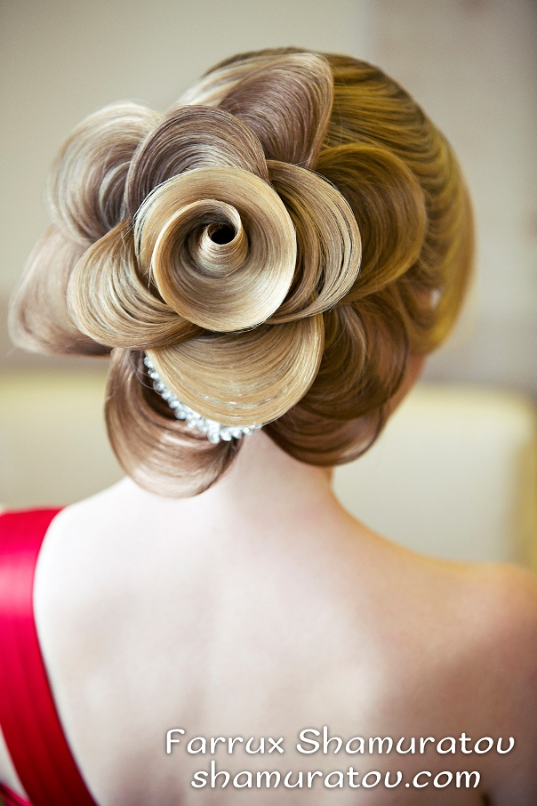 Bridal Hair Inspiration Farrukh Shamuratov LoveweddingsNG7