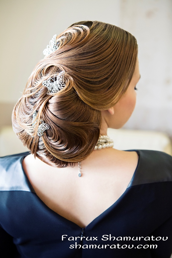 Bridal Hair Inspiration Farrukh Shamuratov LoveweddingsNG8