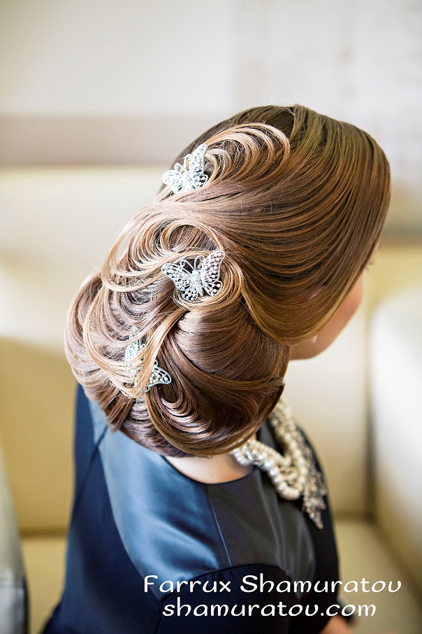 Bridal Hair Inspiration Farrukh Shamuratov LoveweddingsNG9