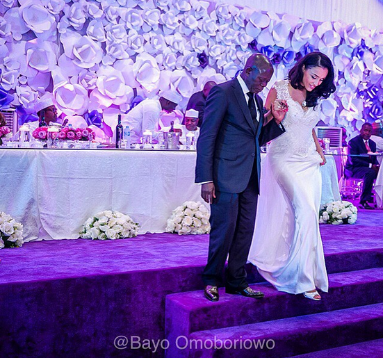 Governor Adams Oshiomole weds Lara Fortes LoveweddingsNG1