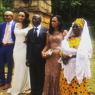 Governor Adams Oshiomole weds Lara Fortes LoveweddingsNG10