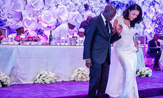 Governor Adams Oshiomole weds Lara Fotes: First Pictures