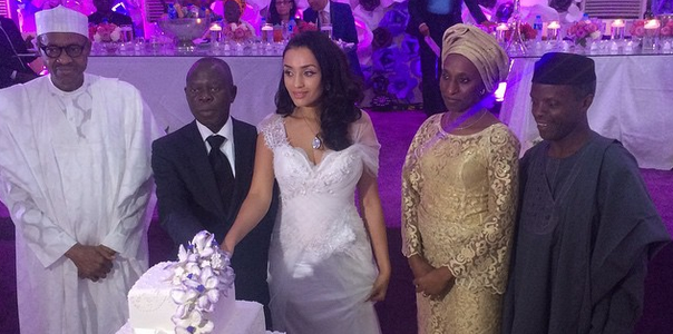 Governor Adams Oshiomole weds Lara Fortes LoveweddingsNG11