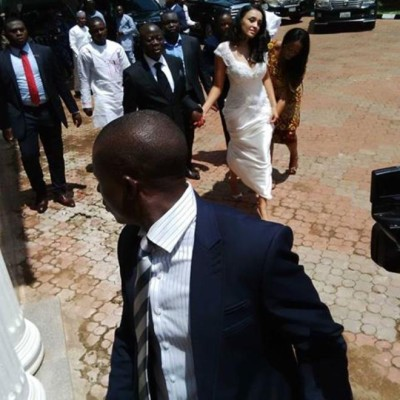 Governor Adams Oshiomole weds Lara Fortes LoveweddingsNG16