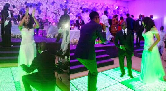 Governor Adams Oshiomole weds Lara Fortes LoveweddingsNG2