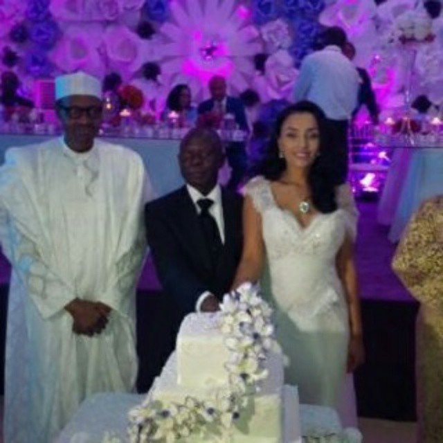 Governor Adams Oshiomole weds Lara Fortes LoveweddingsNG9