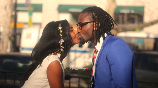 #GbenrOsas Loading… Check out Gbenro Ajibade & Osas Ighodaro's Prewedding Pictures