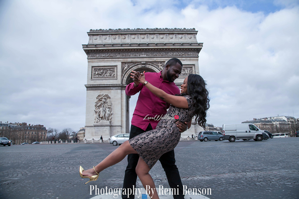 Jimmy & Dammy's Pre-wedding shoot in London & Paris | Photography by Remi Benson