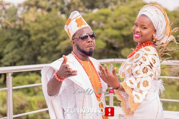 #AGoldenAffair2015: Creative Genius James 'Abinibi' Alabi weds Tolani