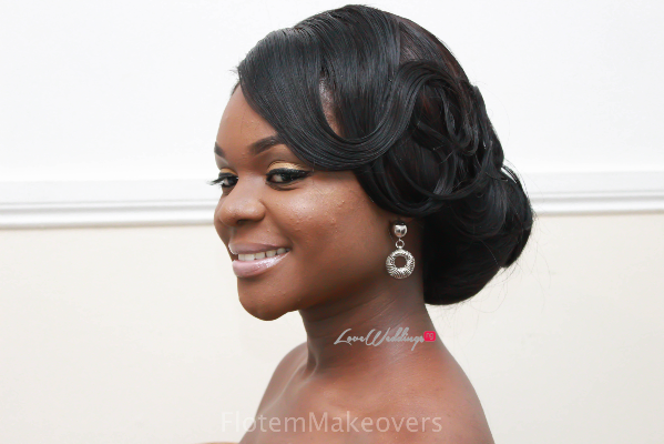 Nigerian Bridal Hair Inspiration Flotem Makeovers LoveweddingsNG16