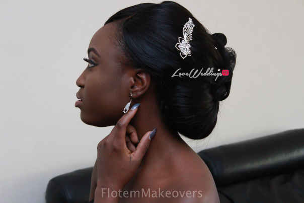 Nigerian Bridal Hair Inspiration Flotem Makeovers LoveweddingsNG2