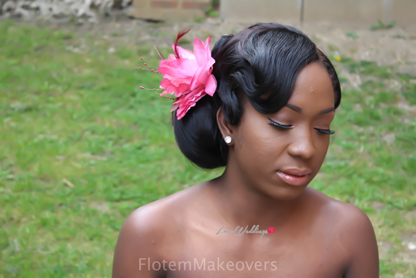 Nigerian Bridal Hair Inspiration Flotem Makeovers LoveweddingsNG23