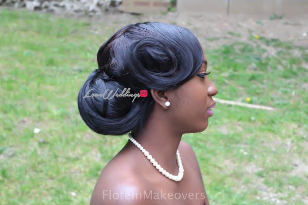 Nigerian Bridal Hair Inspiration Flotem Makeovers LoveweddingsNG34
