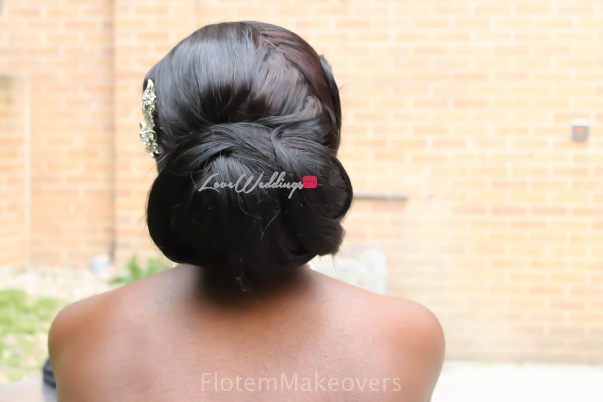 Nigerian Bridal Hair Inspiration Flotem Makeovers LoveweddingsNG35