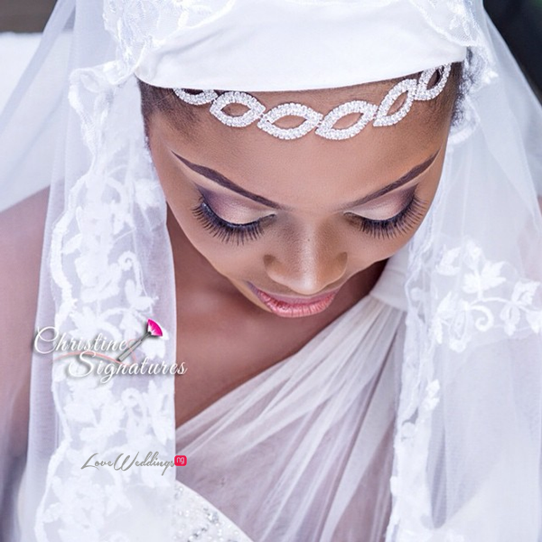 Nigerian Bridal Inspiration Christine Signatures LoveweddingsNG