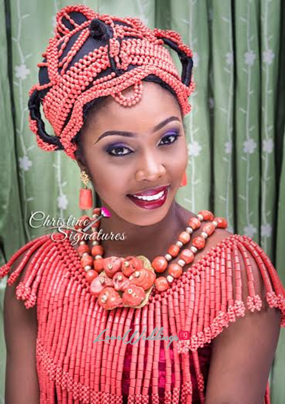 Nigerian Bridal Makeup Inspiration Christine Signatures LoveweddingsNG