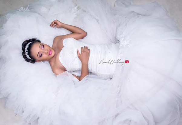 Nigerian Bridal Makeup Inspiration Christine Signatures LoveweddingsNG1