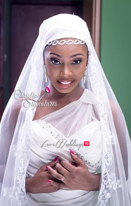 Nigerian Bridal Makeup Inspiration Christine Signatures LoveweddingsNG3