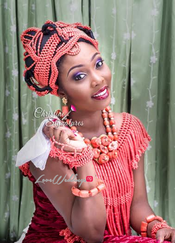 Nigerian Bridal Makeup Inspiration Christine Signatures LoveweddingsNG5
