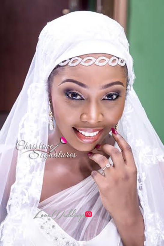 Nigerian Bridal Makeup Inspiration Christine Signatures LoveweddingsNG7