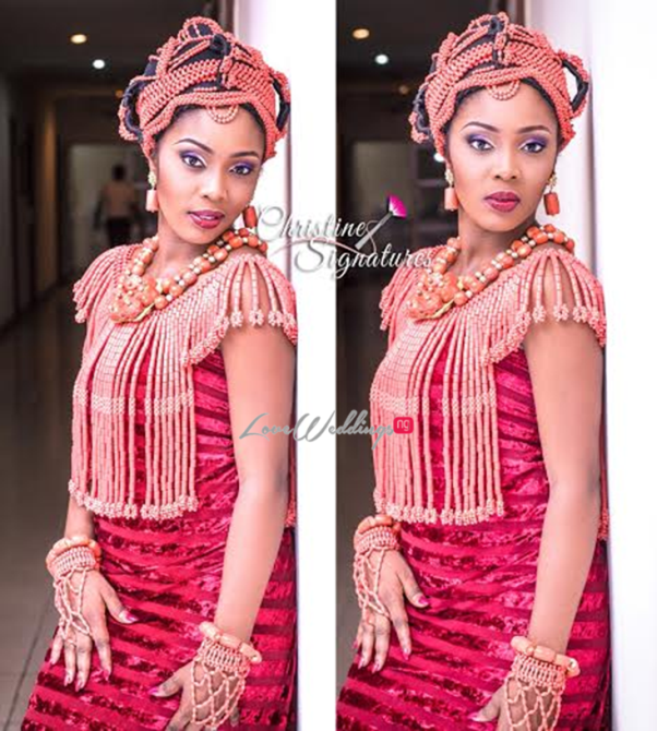 Nigerian Bridal Makeup Inspiration Christine Signatures LoveweddingsNG9