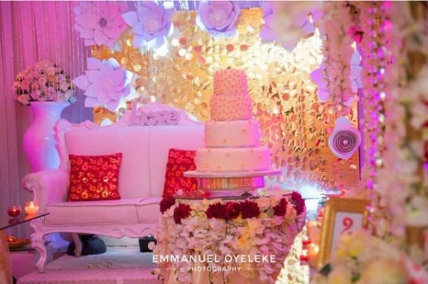 Nigerian Wedding Decor LoveweddingsNG - Newton and David2