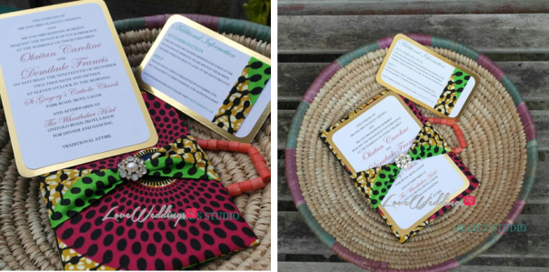 Ollies Studio - Afrocentric Wedding Invitations LoveweddingsNG