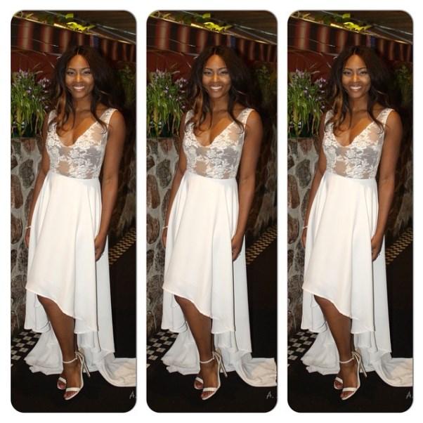 Osas Ighodaro's Bridal Shower Look LoveweddingsNG