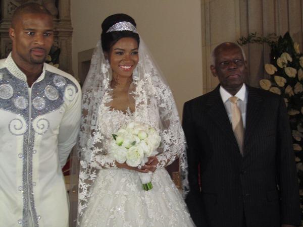 Osi Umenyiora weds Leila Lopes LoveweddingsNG2