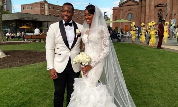 Osi Umenyiora's sister – Ijeoma weds Uzoma: First Pictures