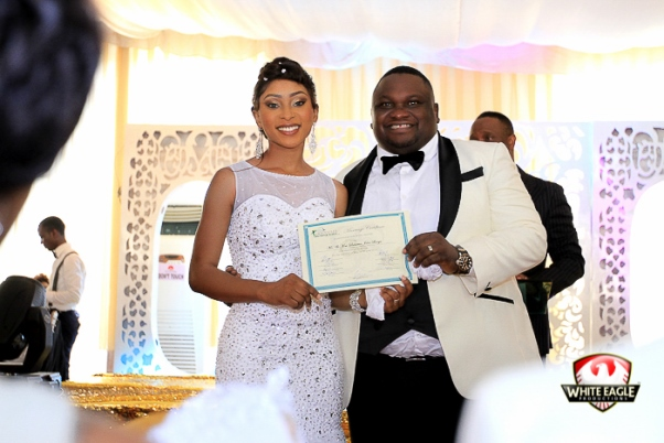 Solomon Lange Nigerian Gospel Artist Weds Florence LoveweddingsNG15