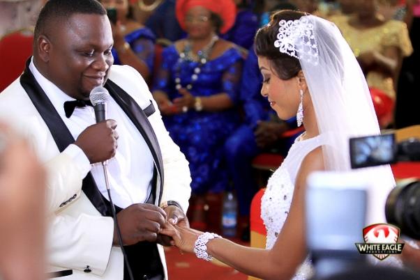 Solomon Lange Nigerian Gospel Artist Weds Florence LoveweddingsNG18
