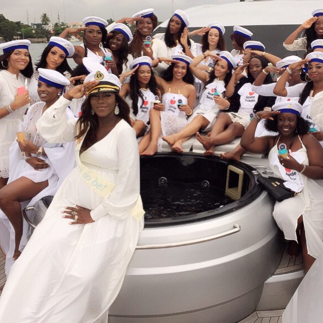 Tiwa Savage Baby Shower LoveweddingsNG40