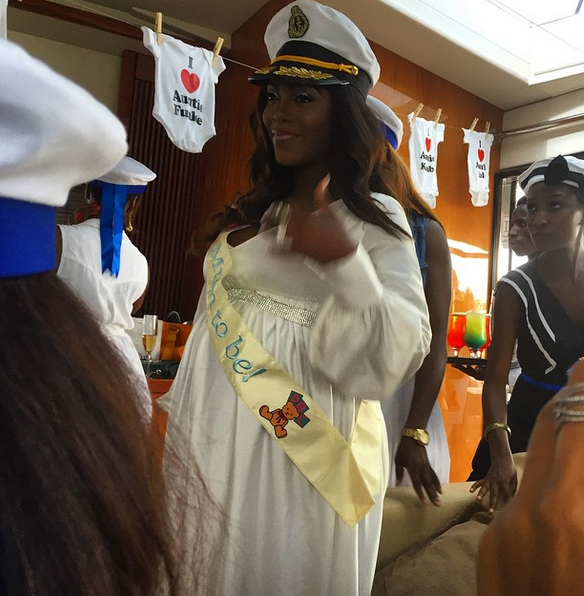 Tiwa Savage Baby Shower LoveweddingsNG6