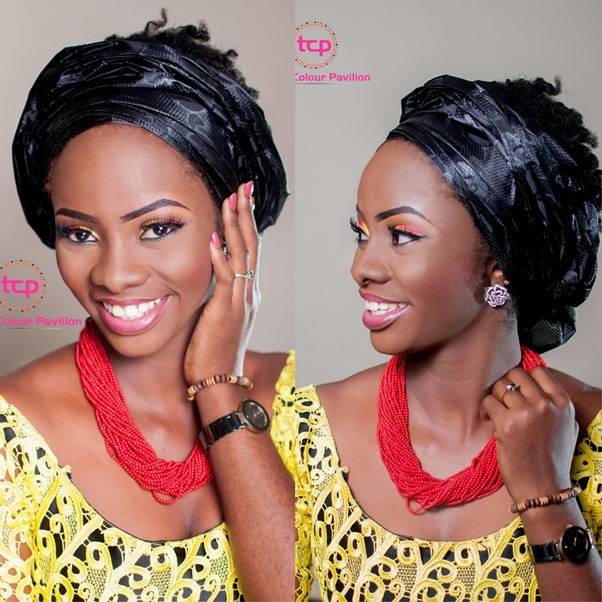 Traditional Bridal Makeup Tomis Colour Pavillion LoveweddingsNG3