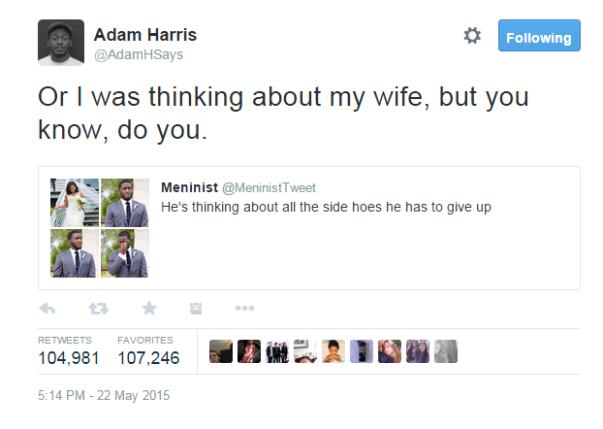Adam and Tisa Internet Meme LoveweddingsNG4