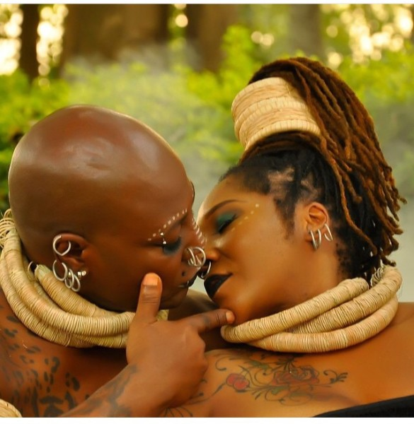 Charly Boy Lady D LoveweddingsNG