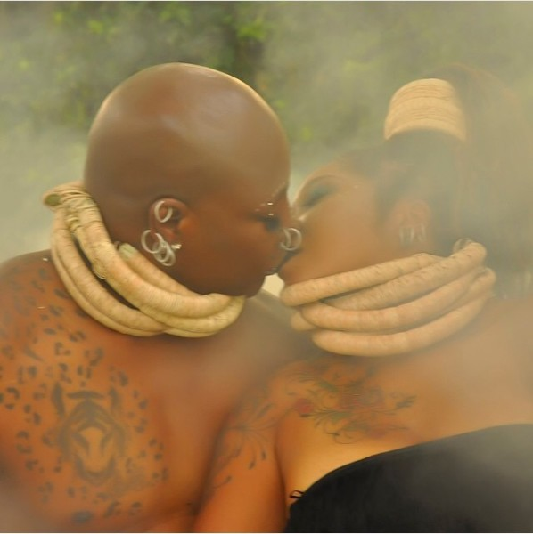 Charly Boy Lady D LoveweddingsNG1