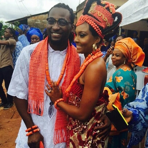 Gbenro Ajibade Osas Ighodaro Traditional Wedding LoveweddingsNG5