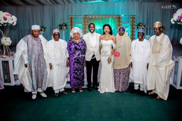 Khadijah Ahmadu Ali weds Prince Abdul Ogohi LoveweddingsNG10