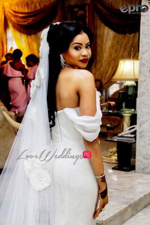 Khadijah Ahmadu Ali weds Prince Abdul Ogohi LoveweddingsNG2