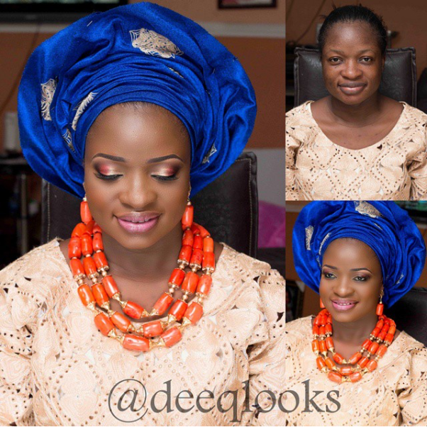 LoveweddingsNG Before and After Dee Q Looks
